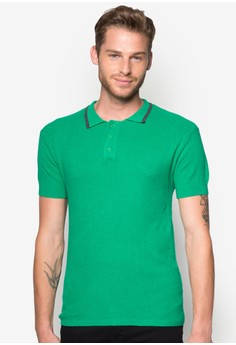 XM - Textured Knitted Polo