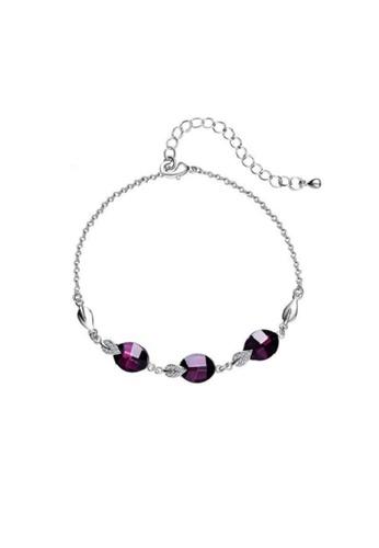 ADORA brown Elegant Swarovski Bracelet 29050AC8676449GS_1