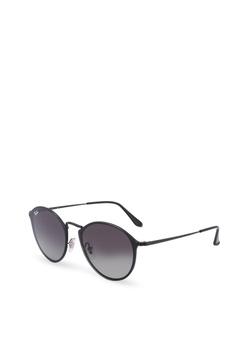 3eff436a6f39 Ray-Ban black Highstreet RB3574N Sunglasses BF12BGL3E9F684GS 1