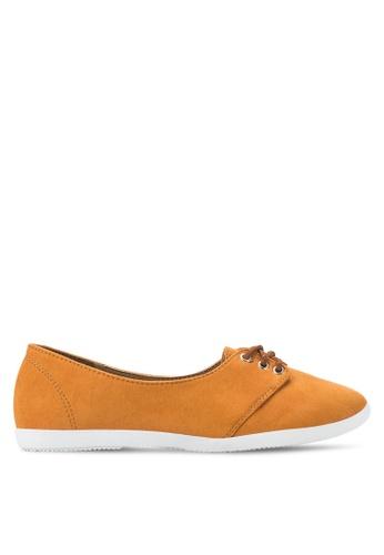 St3p orange Lace Up Shoes ST395SH10RTTMY_1