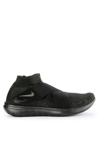 Nike black Men's Nike Free RN Motion Flyknit 2017 Running Shoes 2A0F6SH012E973GS_1