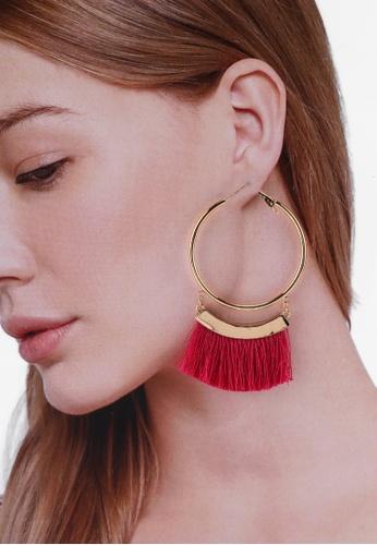 b36a681a Buy Red's Revenge 2-In-1 Sunseeker Fringe Earrings Set | ZALORA HK