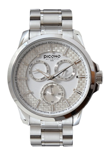 PICONO Watches white Eunice Carbon Fiber Weave Dial Fashion Watch PI771AC2VURWHK_1