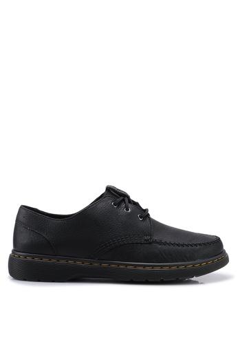 Dr. Martens black Hanneman 3 Eye Shoes 3C5EFSH336828BGS_1