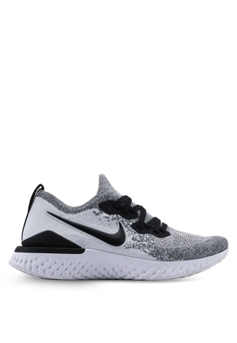 bfce7626a834 Shop Nike Nike Epic React Flyknit 2 Shoes Online on ZALORA Philippines