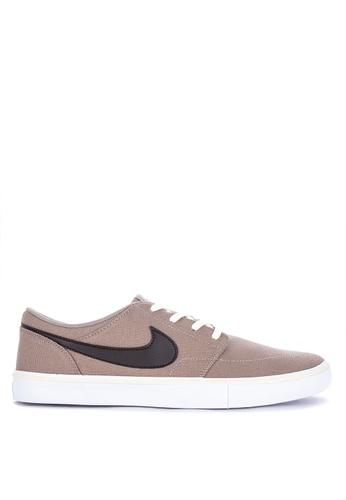 wholesale dealer 1590a a1a2d Nike brown Nike Sb Solarsoft Portmore Ii Shoes 0EB11SH301960DGS 1