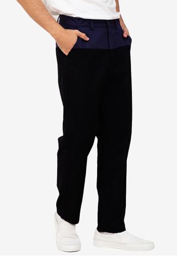 ZALORA BASICS multi Two Tone Trousers CCE4BAAEEFF4C1GS_1