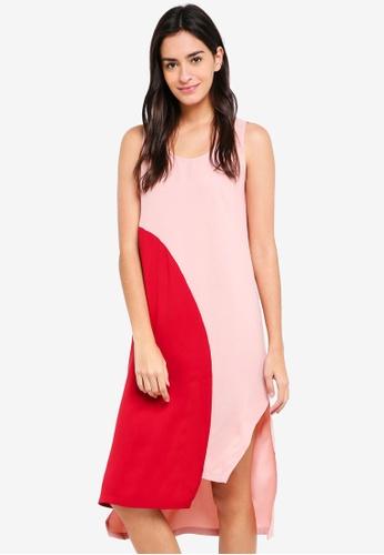 ZALORA multi Colorblock Dress 9DE84AA939E694GS_1