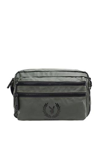 Playboy green Unisex Sling Bag 87881AC9A45B0DGS_1