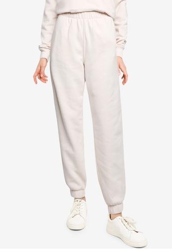 Hollister beige Icon Dad Jogger Pants B15EEAA1E6BDFEGS_1
