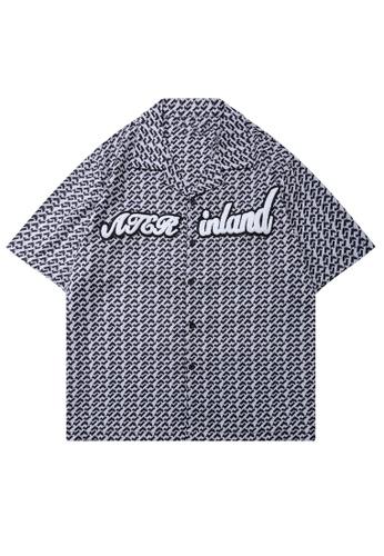 HAPPY FRIDAYS Trend Printed Short Shirt EB-SA24 AD0DEAAE923456GS_1