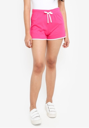 Dorothy Perkins pink Pink Jersey Shorts 2CC2CAAFF4A3BCGS_1
