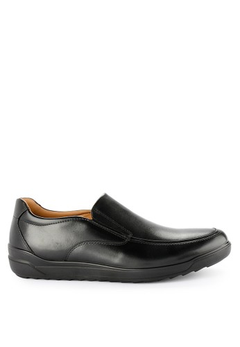 Hush Puppies black Mallone Slip On 343B8SHDEABD69GS_1
