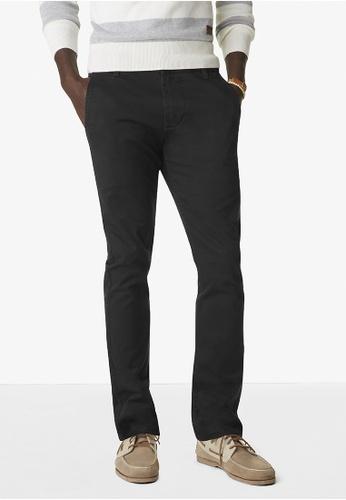 Dockers black Dockers Alpha Original Khaki Skinny Pants Black DO282AA0FKUWSG_1