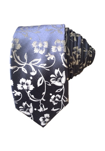 Shop Chase Fashion Floral Design Business Necktie Online On
