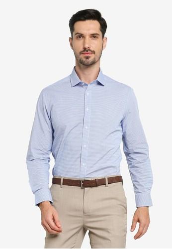 G2000 blue Checked Core Yarn Dye Shirt C9574AAB841AF5GS_1