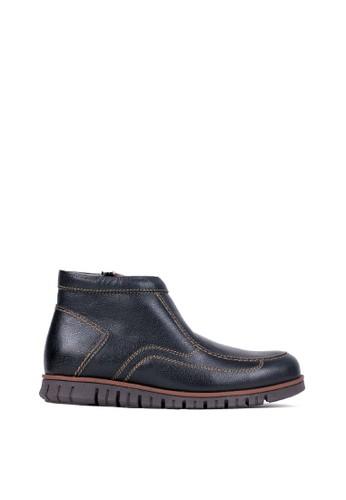 Tony Perotti black Tony Perotti Boots Eduardo - Black EAFC2SHEEB509BGS_1