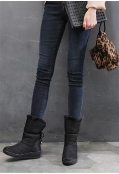b28ffcbb6ca Crystal Korea Fashion Korean Winter New Versatile Warm Boots HK  390.00.  Sizes 230 235