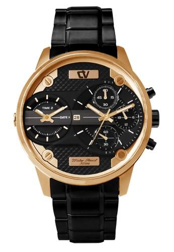 Christ Verra black Christ Verra Men's Watches CV C 26400G-18 BLK 0A95EAC6DB815DGS_1
