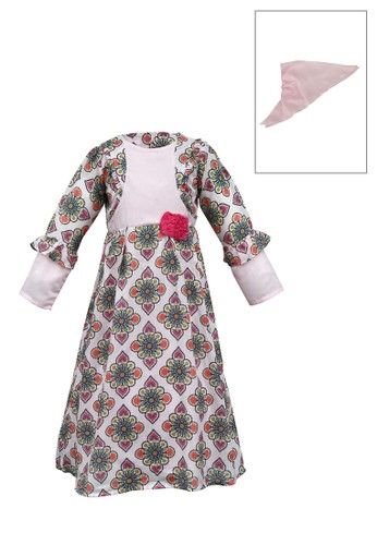 ODAIBA pink and green Muslim Anak-ODM 16 5/8 6D14EKA7D4B135GS_1