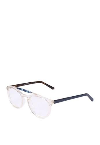 Milliot & Co. white Tracy Phantos Glasses 252FCGL18E2417GS_1