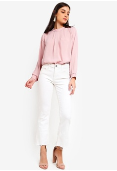 c3b46b70b6f 26% OFF ZALORA High Neck Long Sleeves Top S  34.90 NOW S  25.90 Sizes XS S  M L XL