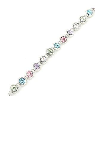 Glamorousky multi Cutie Dots Bracelet with Multi Color Austrian Element Crystals 647F7AC34F2957GS_1