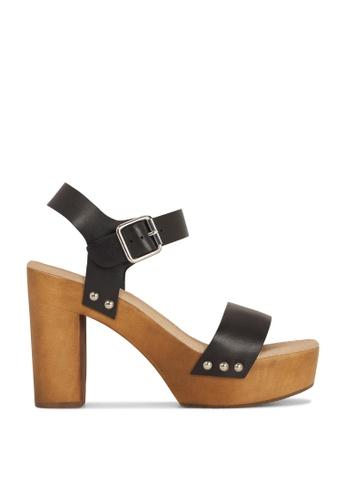 ROC Boots Australia black Fleetwood Black Wedge Sandal RO517SH77QPUHK_1