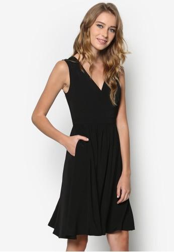 素色喇叭洋裝, 服飾, Likesprit分店e A Boss