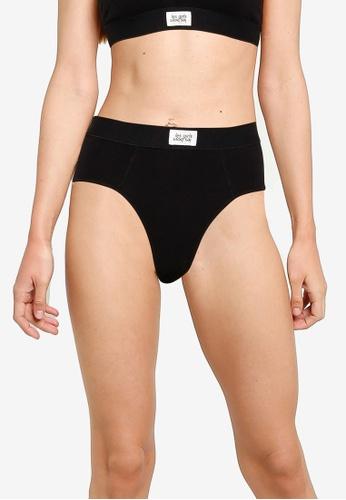 Les Girls Les Boys black Ultimate Comfort Highwaisted Brief 0259FUS8617BA3GS_1