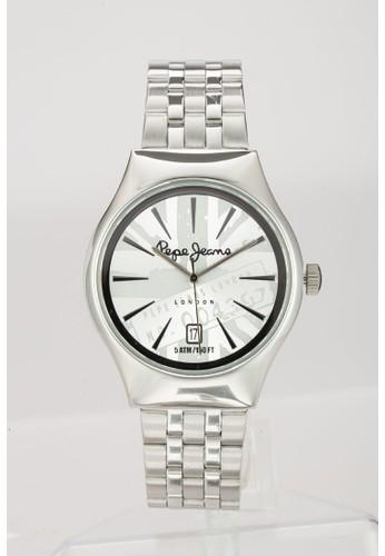 R2353113001  Joeyzalora 心得 印花不銹鋼男士圓錶, 錶類, 飾品配件