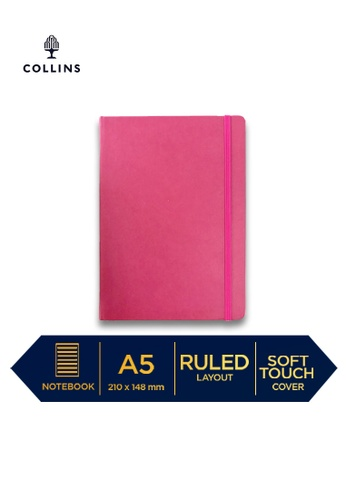 Collins pink Collins Legacy  ─  NotebookA5 Ruled Pink E64ADHL2E80613GS_1
