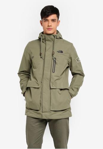 The North Face green TNF M Northern Lights Rain Jacket - Ap Four Leaf Clover E5DC4AA1FF18E4GS_1