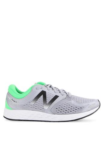 New Balance grey ZANTE Fresh Foam Breathe Pack Performance Running Shoes NE382SH63FRKID_1