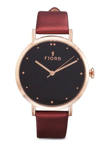 DOTTA 三指針皮革圓錶, esprit taiwan錶類, 飾品配件