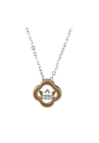 GOLDHEART GOLDHEART Necklace, Diamond White Gold 750 (DSPD1936) 7EA08ACCDFE0EAGS_1