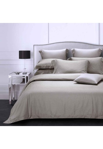 Epitex Epitex Hybrid Botanic Silk ET1213-1 1200TC DOBBY Fitted Sheet Set 5A207HL5A36B74GS_1