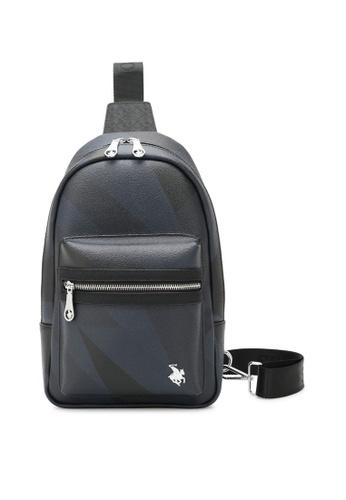 Swiss Polo black Monogram Chest Bag 29DA3ACD90F2AFGS_1