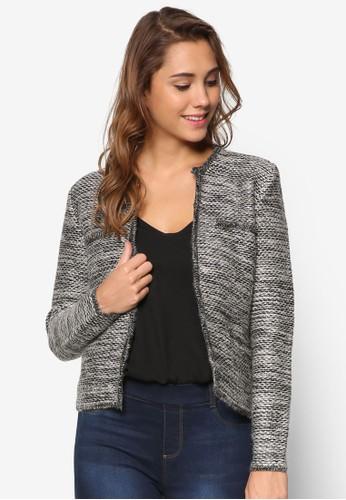 鈕扣混線長袖外套、 服飾、 服飾ESPRIT鈕扣混線長袖外套最新折價