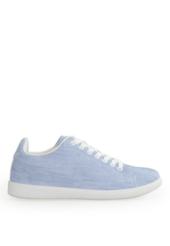 Footspot blue FOOTSPOT - Denim Lace-up Casual Shoes BCA71SH9997A66GS_1