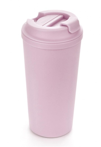 Artiart pink Idea Café+ Suction Cup (Pink Rainbow) Design By ArtiArt BBEC0HLB75360BGS_1
