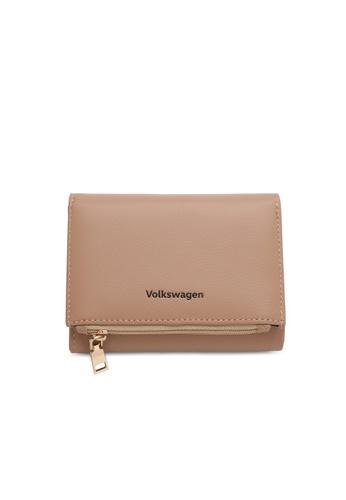 Volkswagen brown Faux Leather Short Purse 155E1ACC992C34GS_1