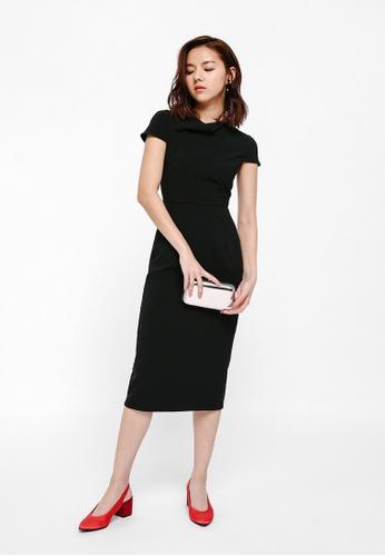 8bc9cb6e44cc0 Buy Love, Bonito Nunegia Cowl Neck Midi Dress Online | ZALORA Malaysia