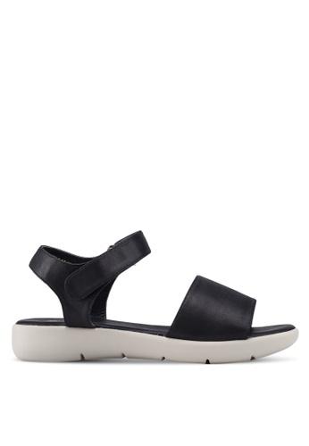 Bata black Classic Strappy Sandals 22A64SH0463224GS_1
