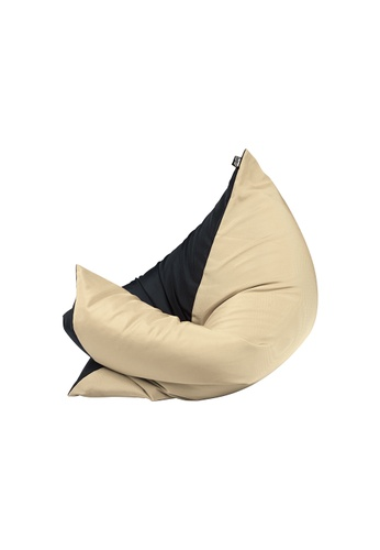 doob black and multi and beige PLOPSTA' - versatile spill-proof doob bean bag (Chilled Barley) 4180CHL5D0AE9AGS_1