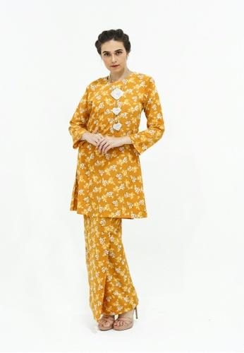 Adam.R yellow Kurung Mayra 29942AAB34C94FGS_1