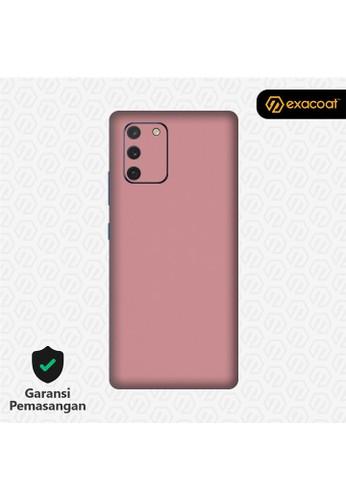 Exacoat Galaxy S10 Lite 3M Skins Blush Pink - Cut Only DE761ES49A1215GS_1