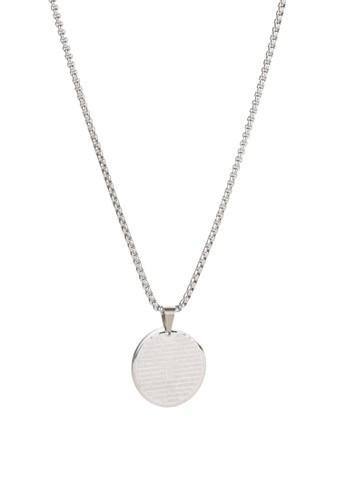 Prestige Collective silver Padre Nuestro Medallion Necklace DB1F8ACC385B25GS_1