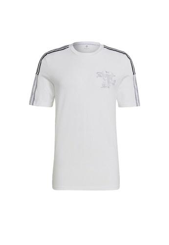ADIDAS white adidas Real Madrid CNY Tee CBFB5AAFA236D8GS_1