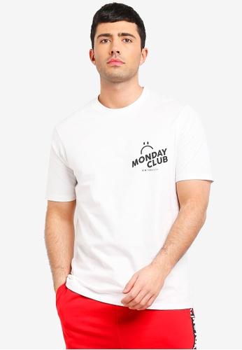 Cotton On 白色 短袖印花T恤 4D9A0AAB9FEBFEGS_1